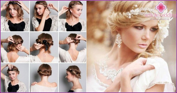 Greek hairstyle - step by step instructions