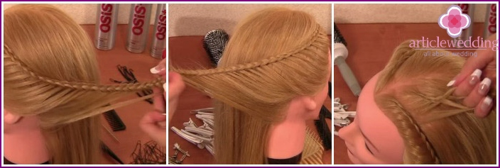 Weave pigtails