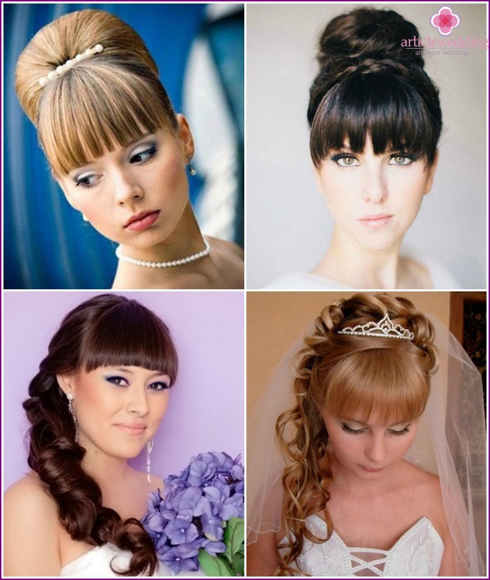 Styling with bangs