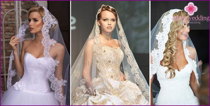 Bridal Mantilla Headpiece