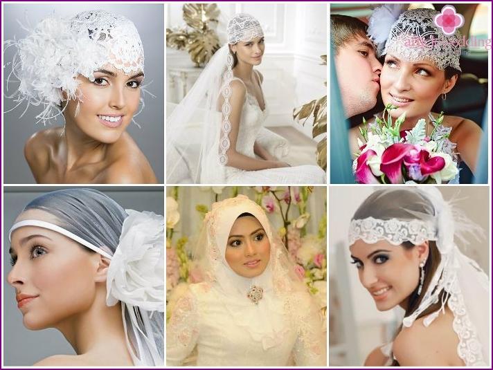 Wedding scarf or bandana instead of veil