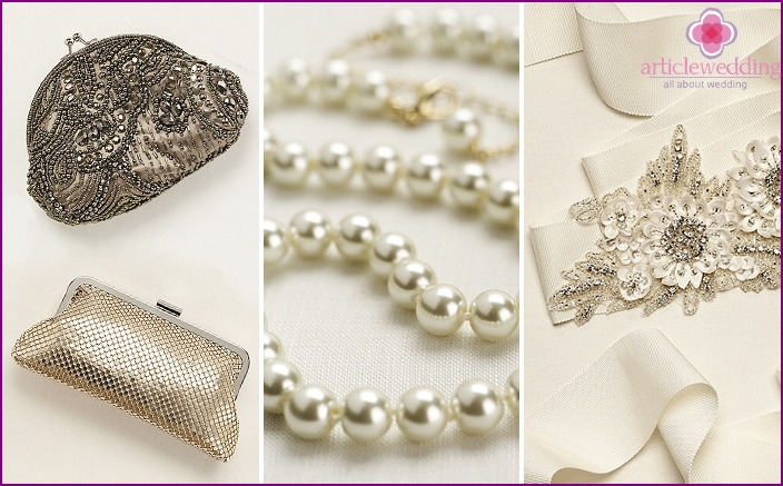 What to wear for the mother of the bride for the wedding: accessories