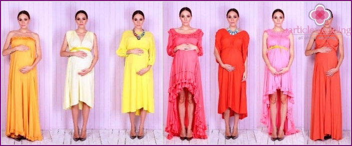 Options for dresses for pregnant girls