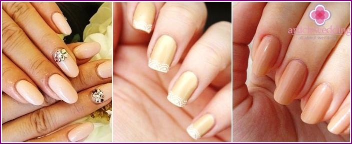Monotonous nail art