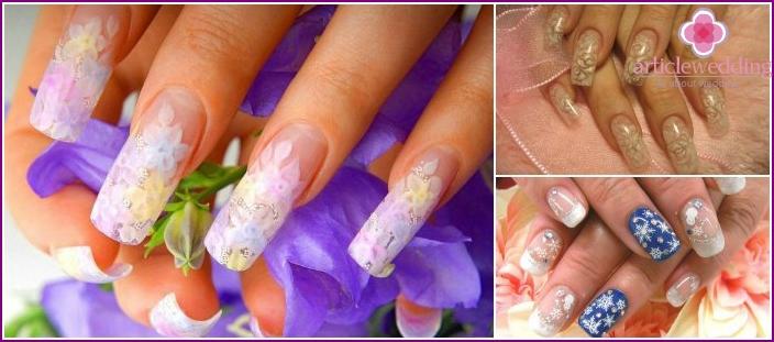 Aquarium manicure