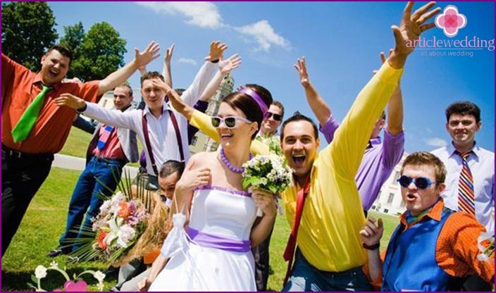 Eine lustige Hochzeit ist ohne lustige Spiele nicht möglich