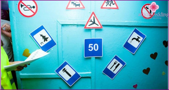 Traffic Signs for Foreclosure Test