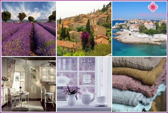 Provence color scheme