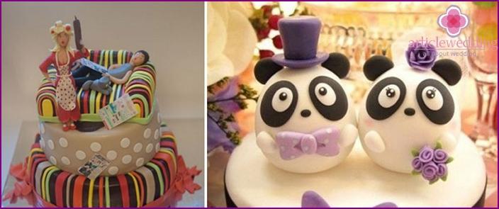 Kuchen für die Hochzeit: Zuckermastix