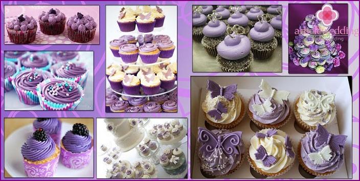 Cupcakes as an alternative to a wedding cake