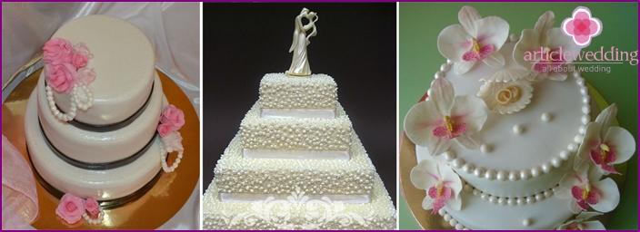 Mastix im Kuchen zum 30. Hochzeitstag