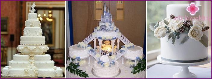 Original weiße Kuchen