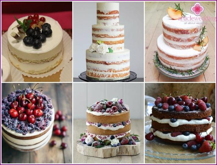 Light cream cake decorating
