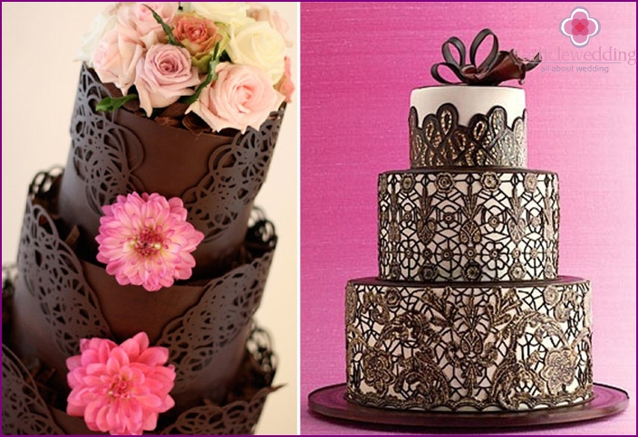 Chocolate lace - the top of culinary art