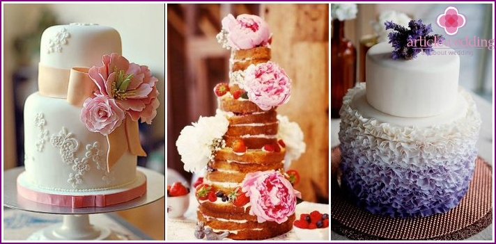 Natural wedding dessert design