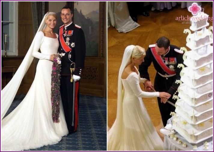 Prince Haakon and Princess Mete Marit's Wedding Cake