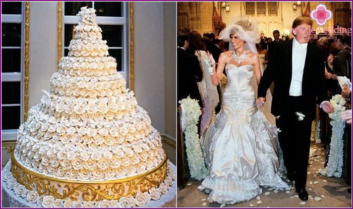 Billionaire Donald Trump's Wedding Cake