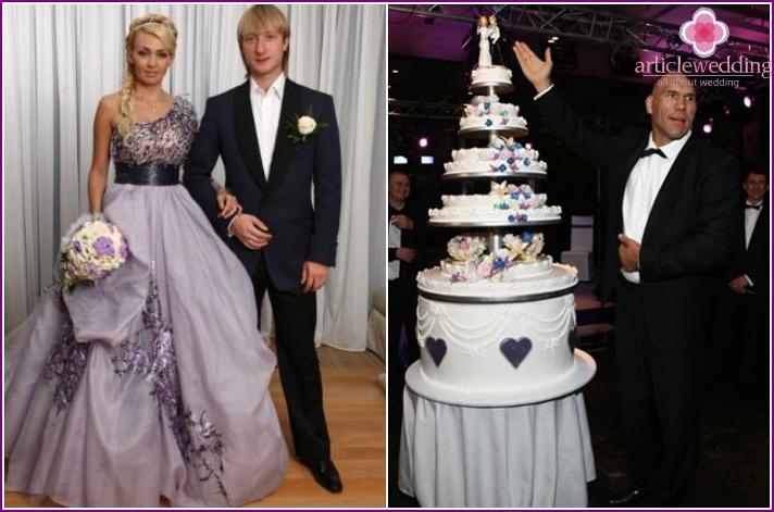 Dessert at the wedding of Plushenko-Rudkovskaya