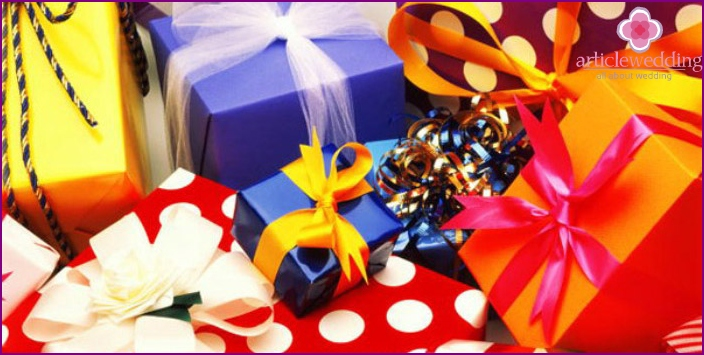 Gifts for the Caucasian bride - by parable