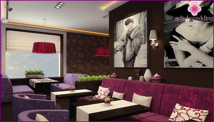Retro Cafe Interieur