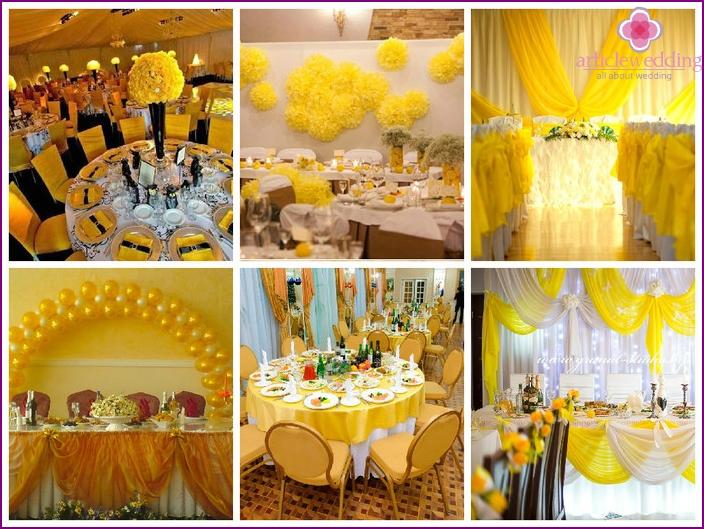 Ideen für die Gestaltung von Hochzeitseinladungen in sonnigen Schattierungen