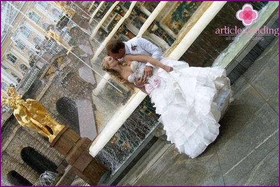 Wedding in Peterhof