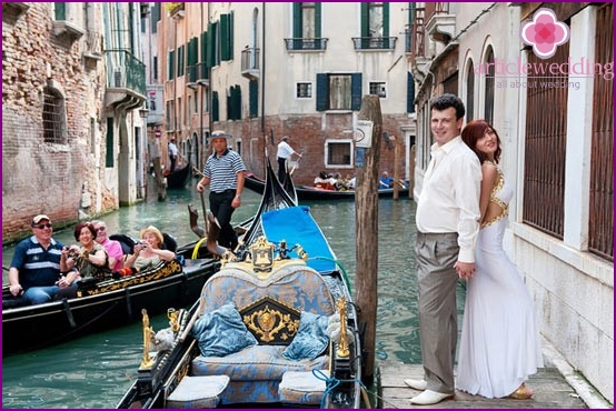 Reisen in Venedig
