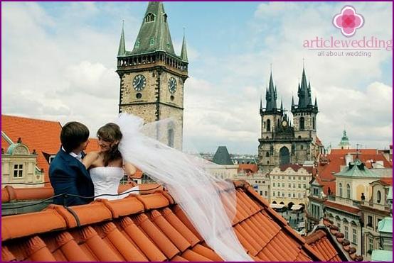 Hochzeit in Prag