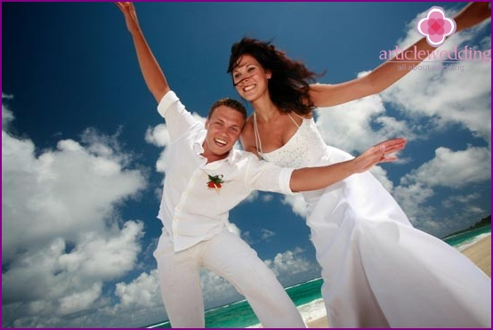 Wedding for two in the Maldives