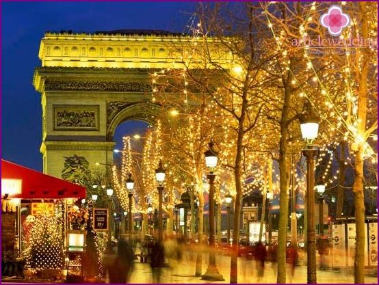 Flitterwochen nach Paris