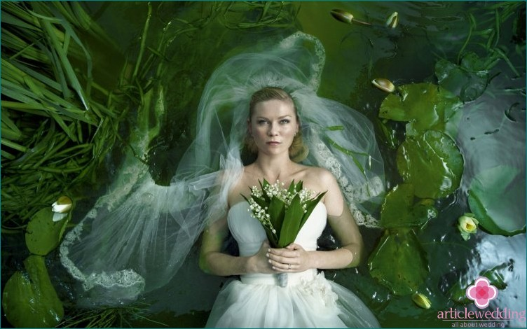Wedding image from the movie Melancholy