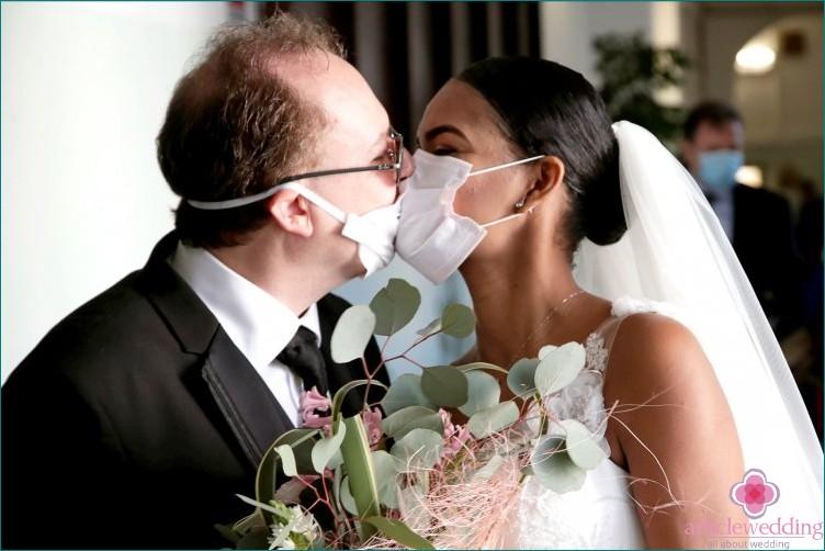 Coronavirus threatened weddings