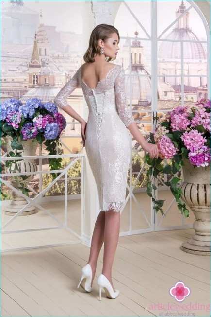 Wedding Sheath Dress
