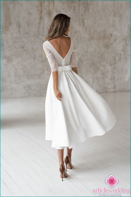 A-line skirt with midi dresses
