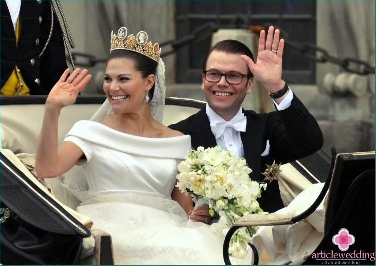Scandinavian royal bride's crown