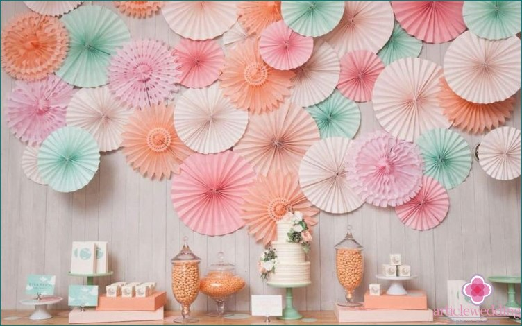 Paper Wedding Decor