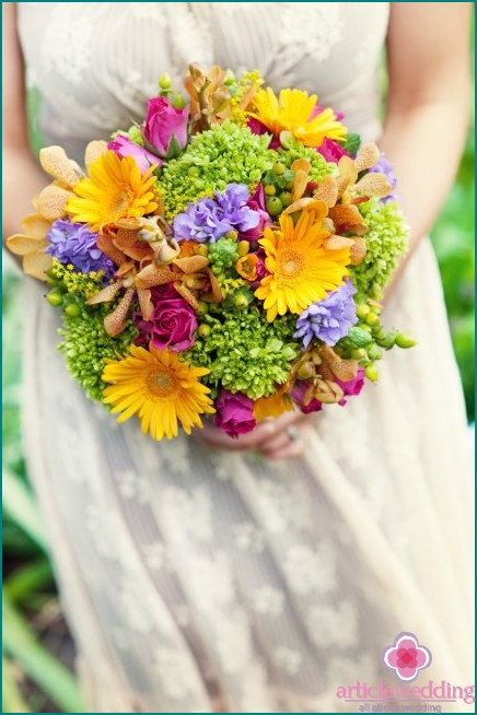 Bouquet and the perfect look