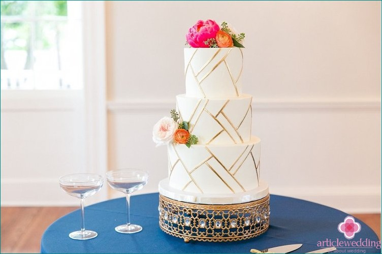 Geometry wedding cake