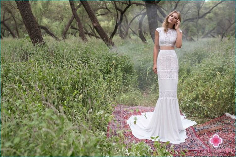 Geometric Wedding Bride Dress Options