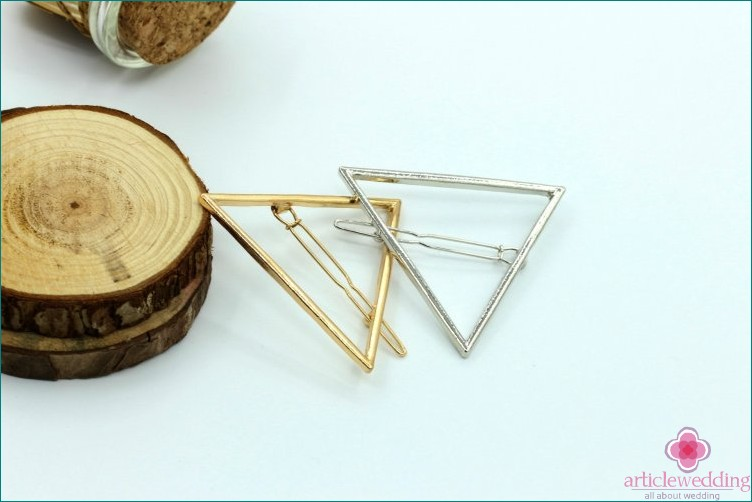 Hairpins geometric